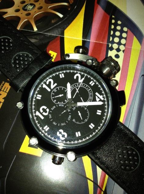 Обзор больших часов от Parnis