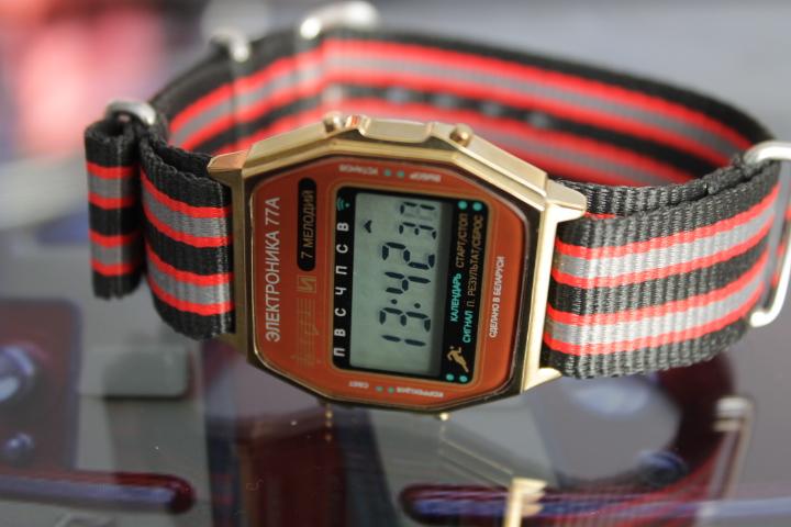 Back in USSR: Белорусские часы Электроника-77А. Итоговый обзор