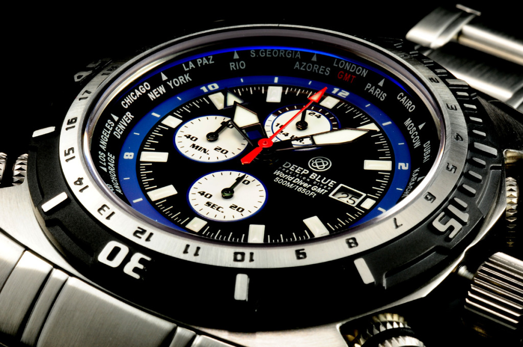 Deep Blue World Diver GMT: из Америки за недорого