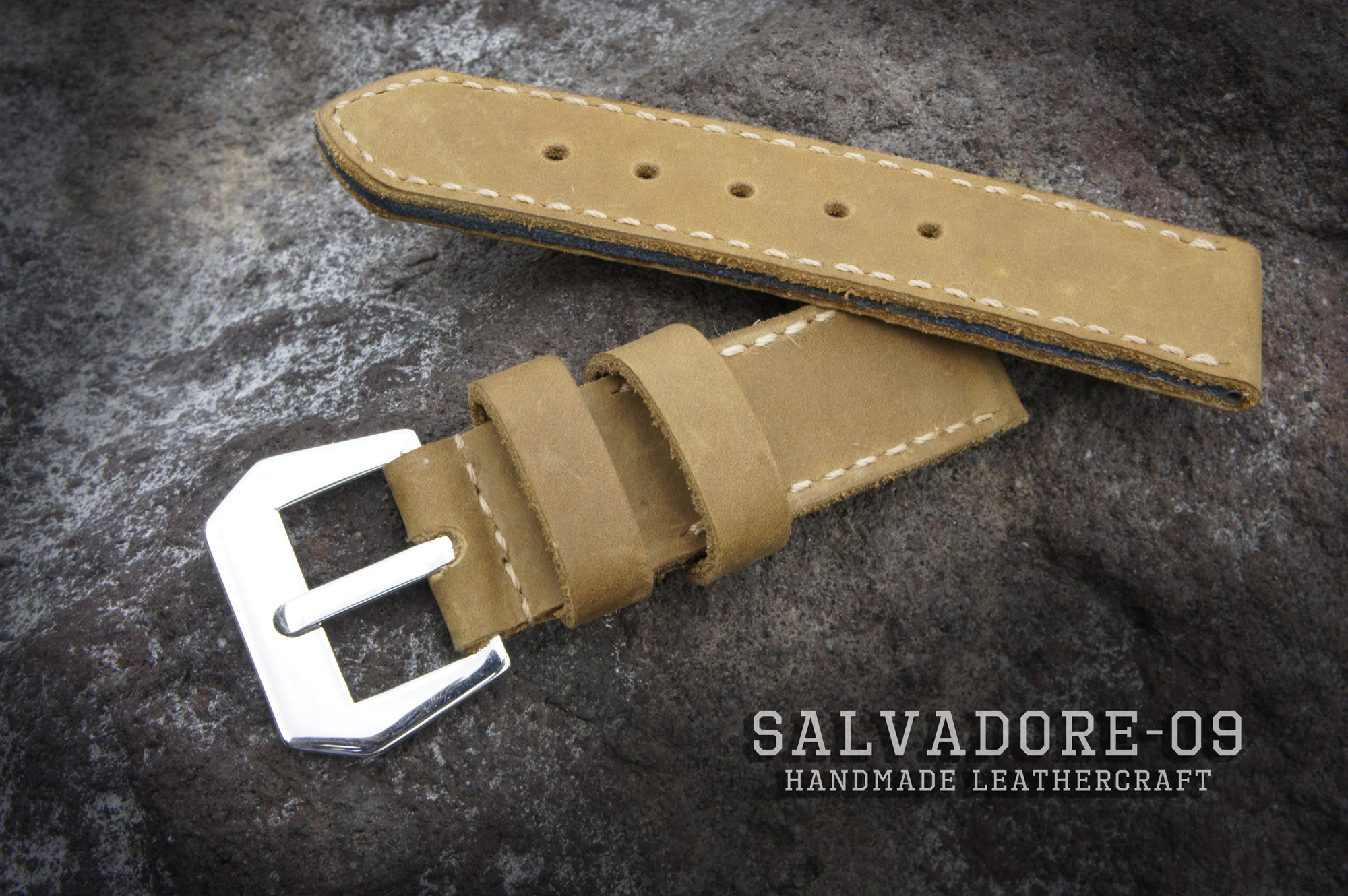Salvadore-09 — замшевые ремешки для ваших Panerai