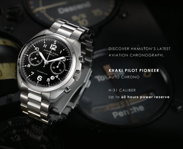 Новинка: Hamilton Khaki Pilot Pioneer
