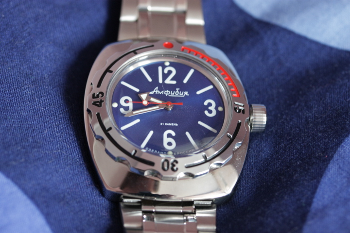 Vostok Amphibia Classic — English Version