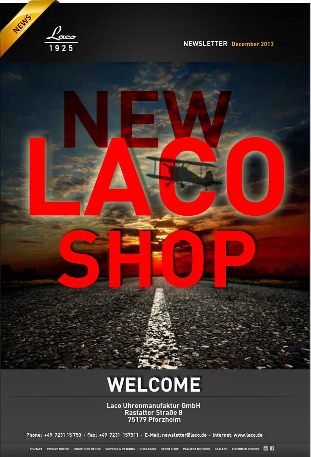 Новый интернет-магазин Laco