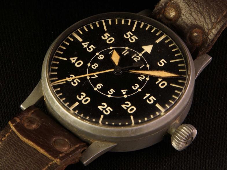 Перед вами часы периода Второй мировой войны лётчиков Люфтваффе