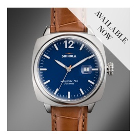 Shinola. Часы Made in USA