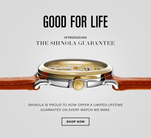 Shinola. Пожизненная гарантия