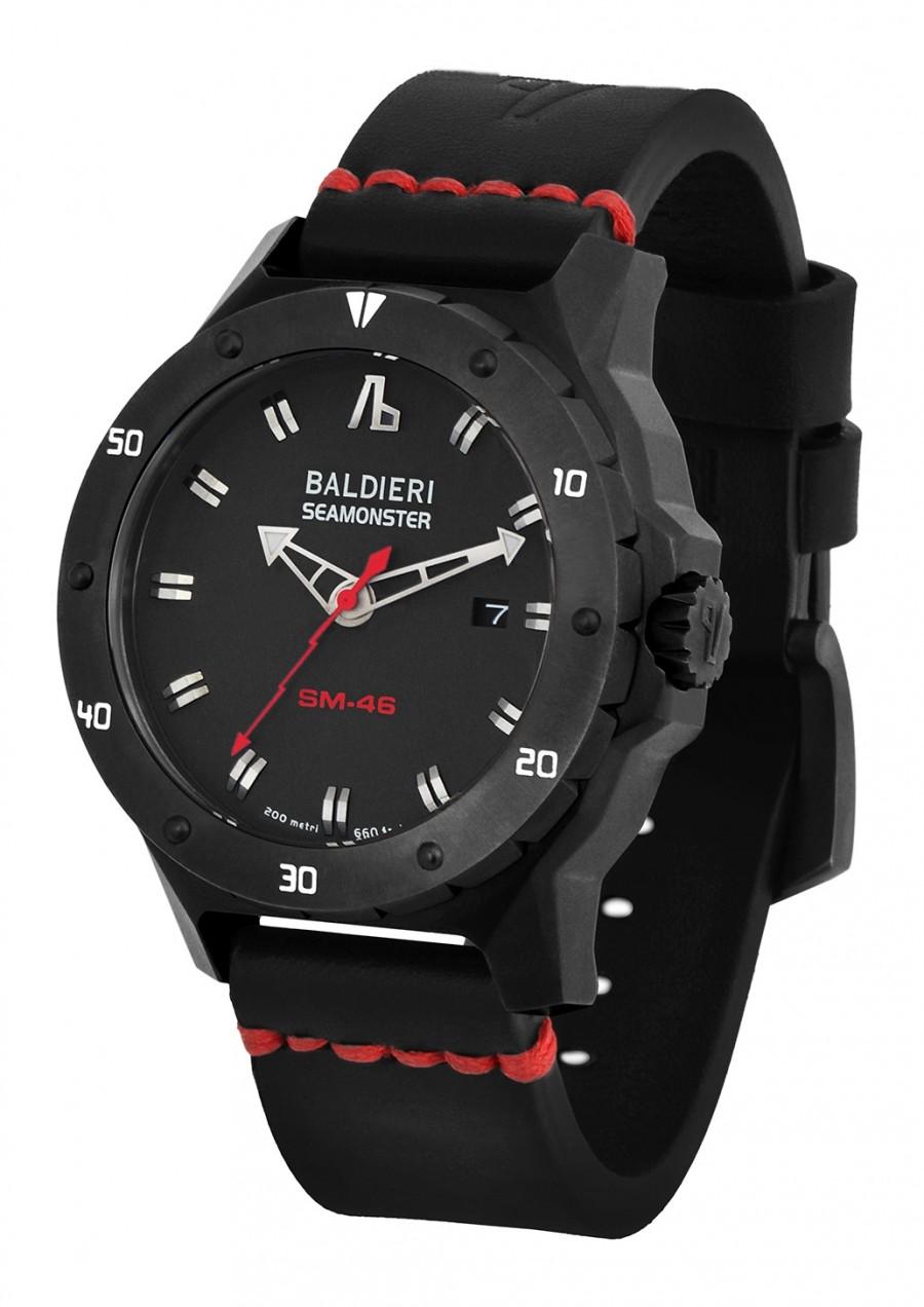 Часы Alessandro Baldieri: граненый корпус