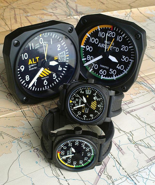 Авиационные часы от производителя альтиметров