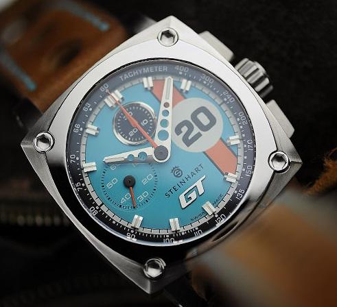 Steinhart Le Mans с винтажным механизмом