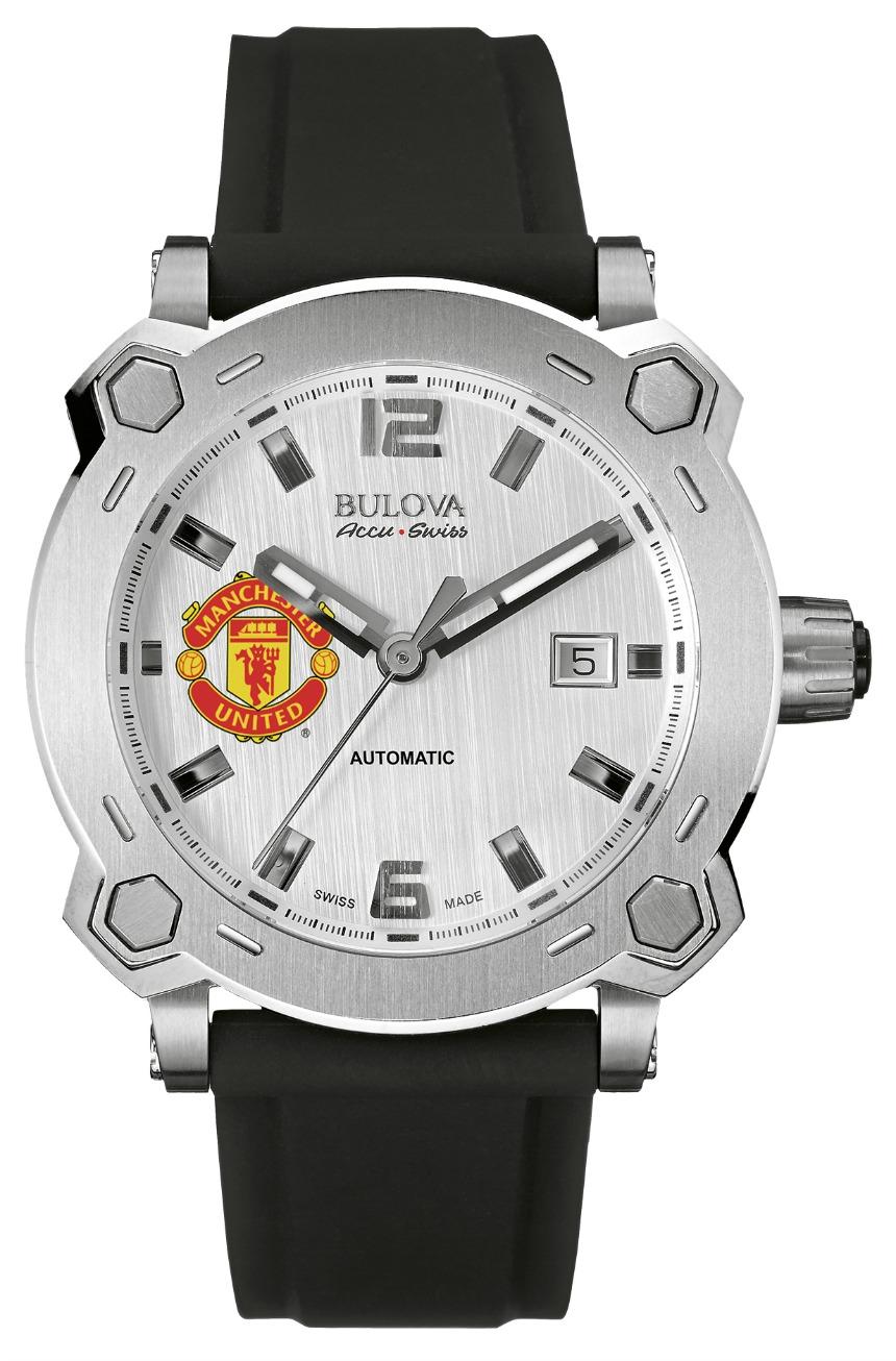Часы Bulova с логотипом Manchester United
