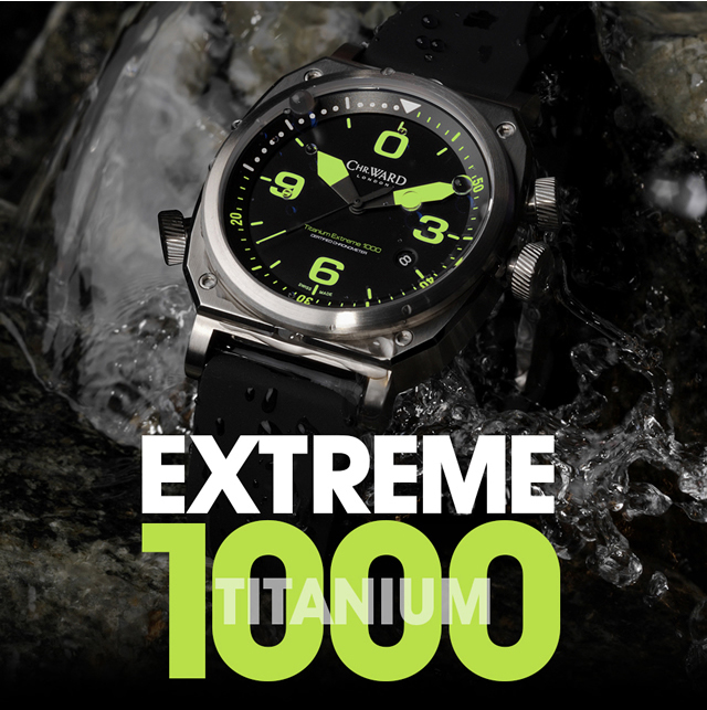 C11 Titanium Extreme 1000 — лимитка от Christopher Ward