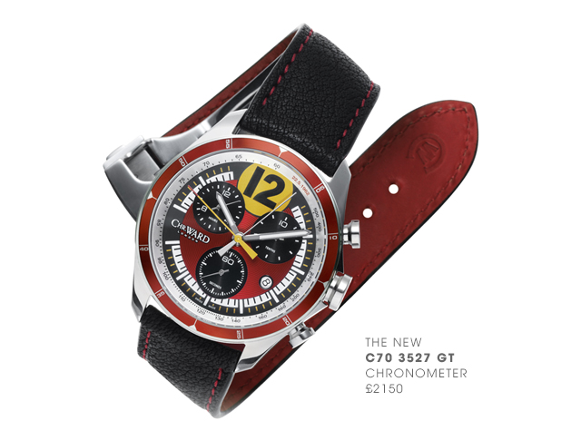Часы Christopher Ward в честь Ferrari 250 GTO