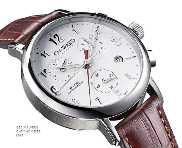 C30 Malvern Chronometer от Christopher Ward — теперь с COSC