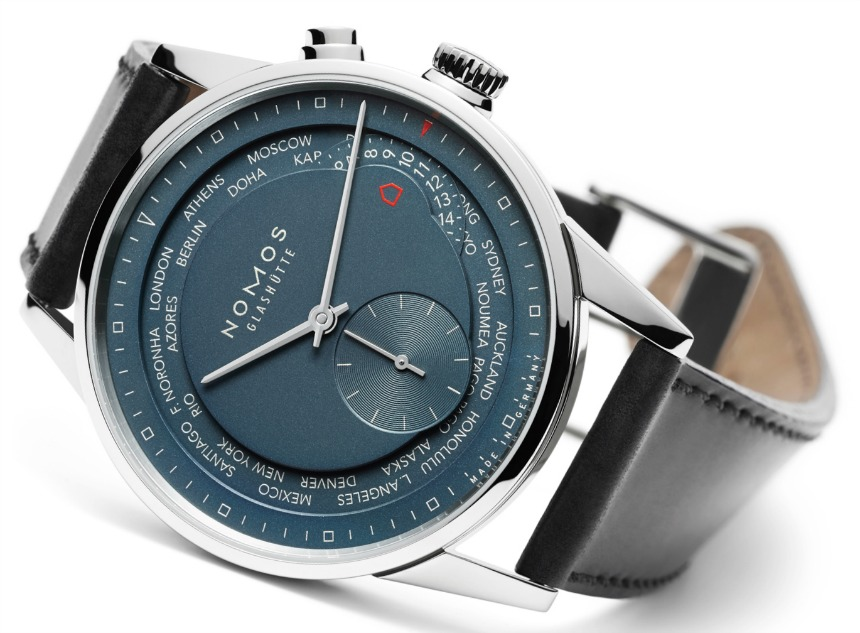 Nomos Zurich Worldtimer True Blue