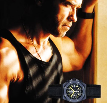 Arnold Schwarzenegger и Royal Oak Offshore End of Days
