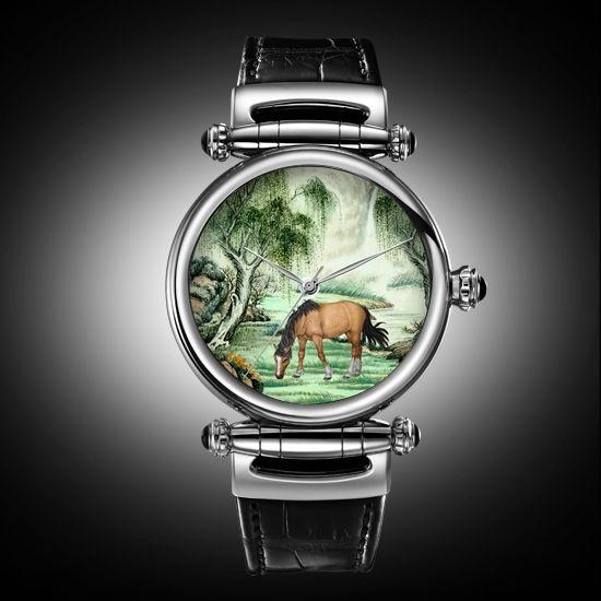 Koncise — китайские часы с эмалевыми циферблатами