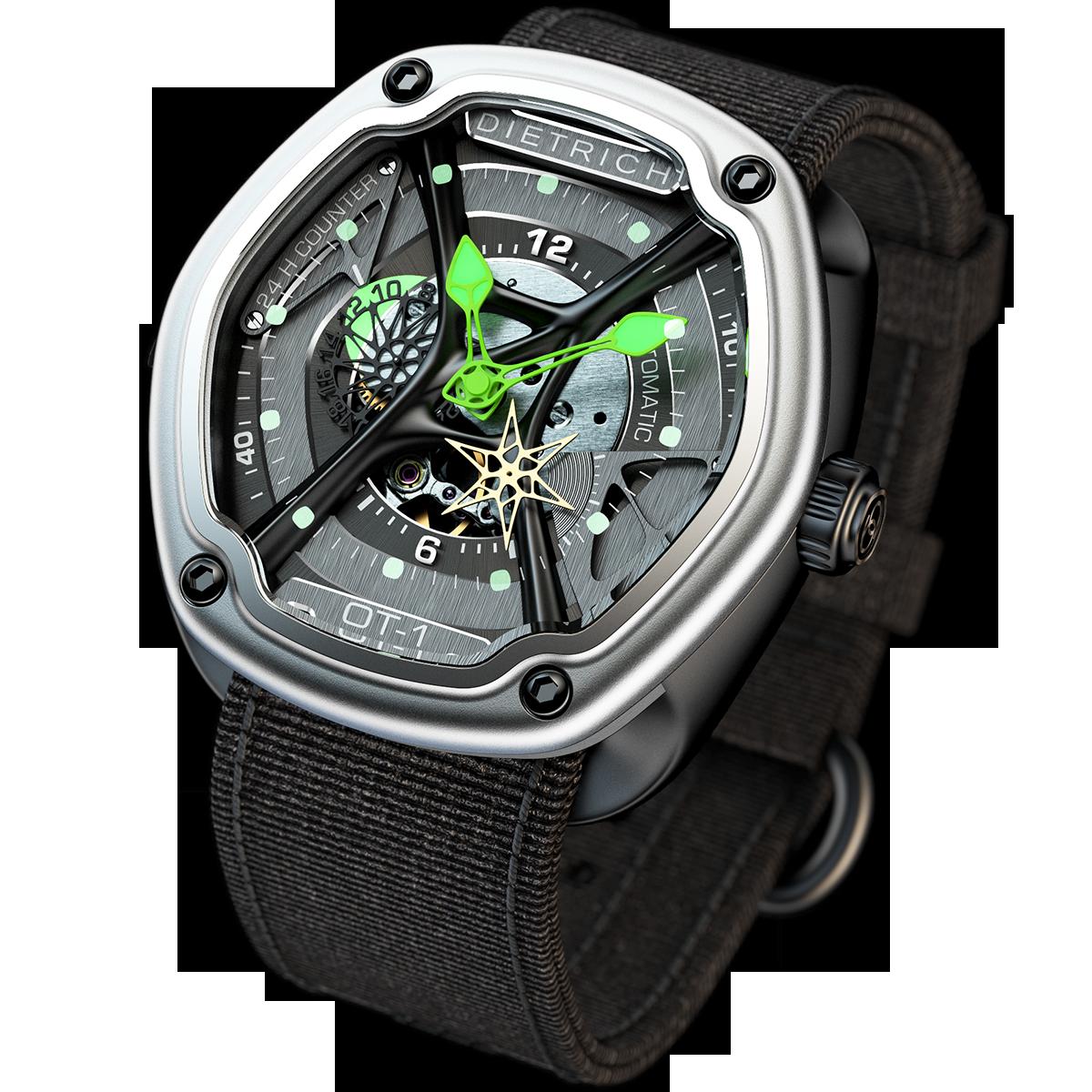Дизайнерские часы Dietrich 1969