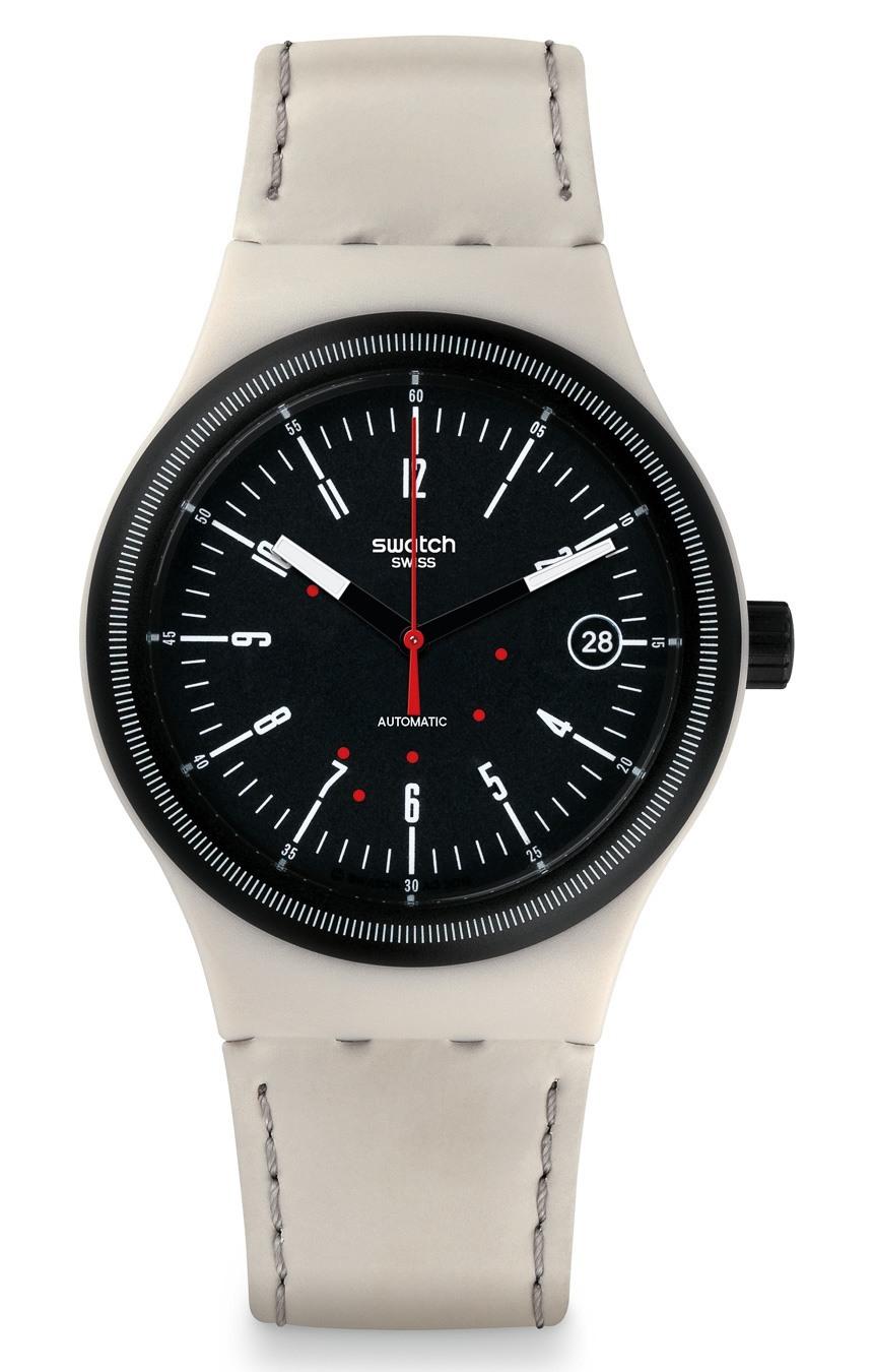 Новые модели с механизмом Sistem 51 от Swatch