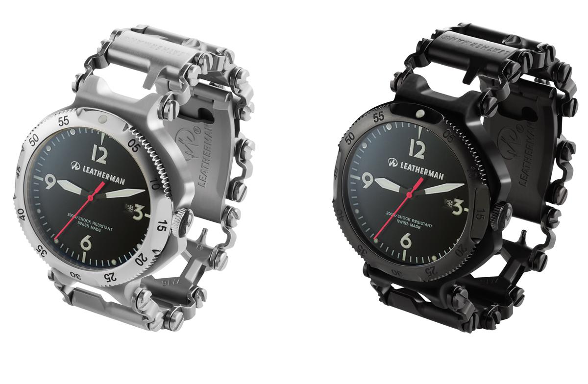 Leatherman TREAD — часы для реальных мужиков