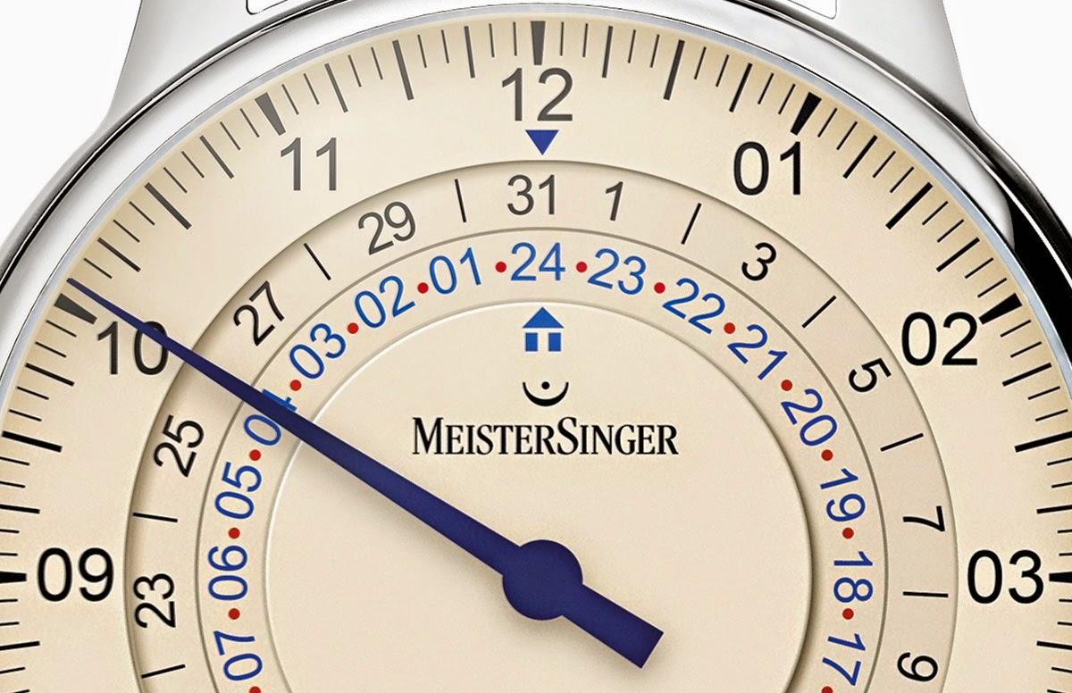 MeisterSinger Adhaesio — теперь и со 2 часовым поясом