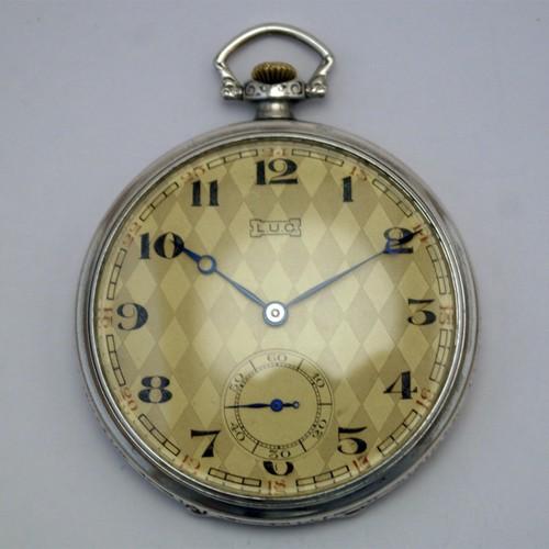 Карманные часы L.U. Chopard (1890 год). Ценовая категория - до 200 евро