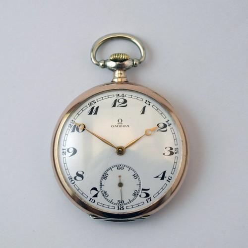 Карманные часы Omega (1926 ujl). Ценовая категория до 200 евро