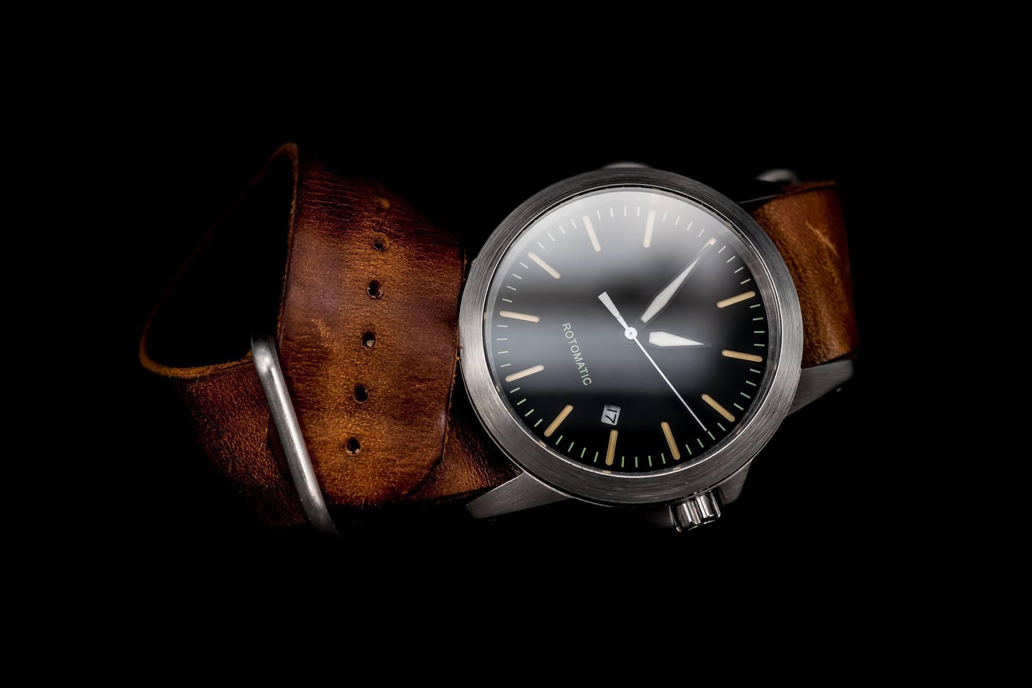 Часы Ronin: недорогой японский дизайн