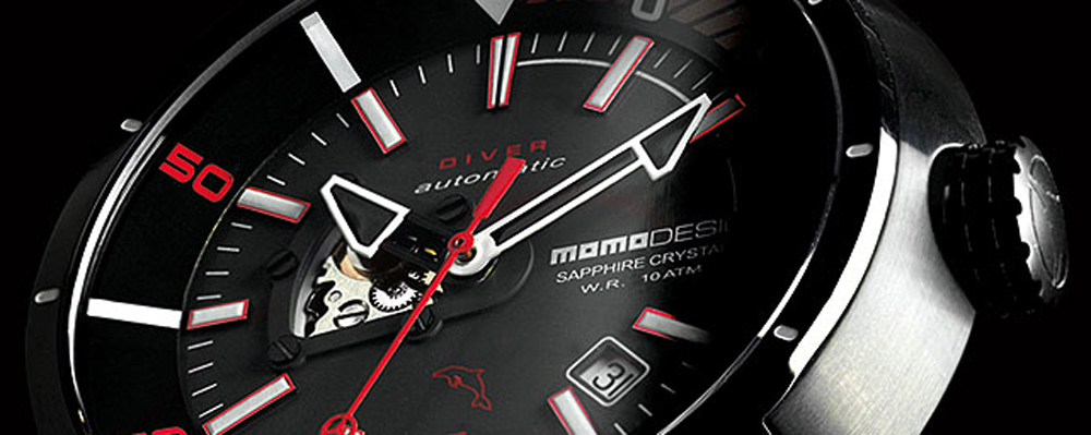 Часы от MOMO Design