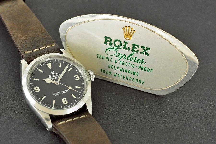 Rolex Explorer: исследуем производителей хомажей