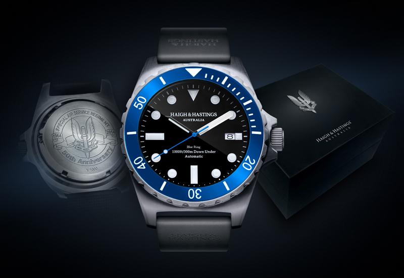 Haigh & Hastings: австралийские дайверские часы