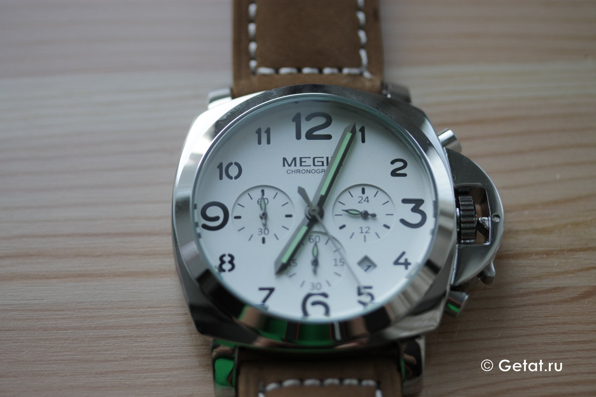 Еще один обзор часов от Megir + информация о компании