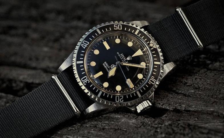 Military Rolex Submariner