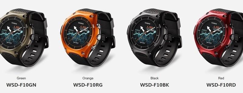 Casio WSD-F10 Smartwatch