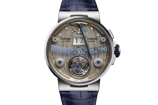 Nardin Grand Deck Marine Tourbillon