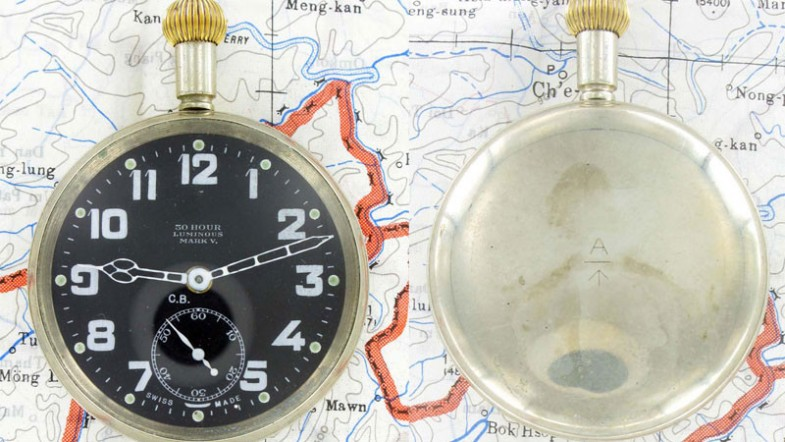 часы Mark IV.A (1914) и Mark V (1916).
