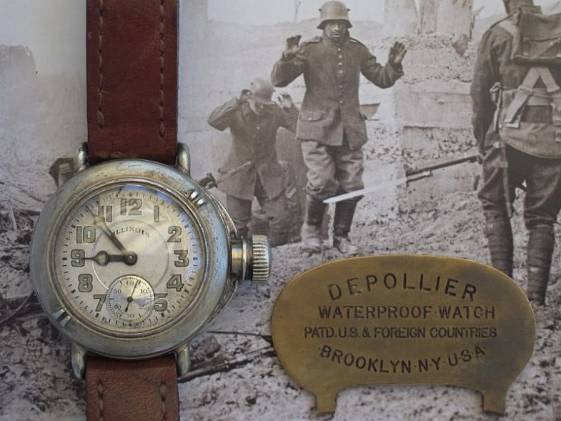Военные часы от Depollier