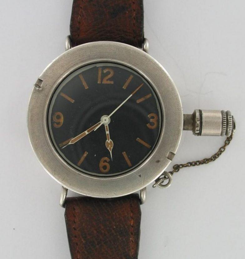 Часы британских боевых пловцов времен Второй мировой войны