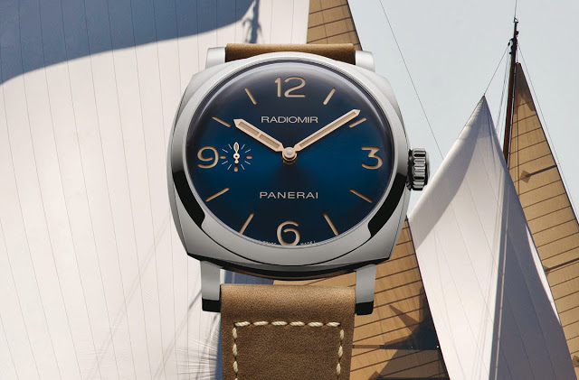 Officine Panerai - Blue Dial special series