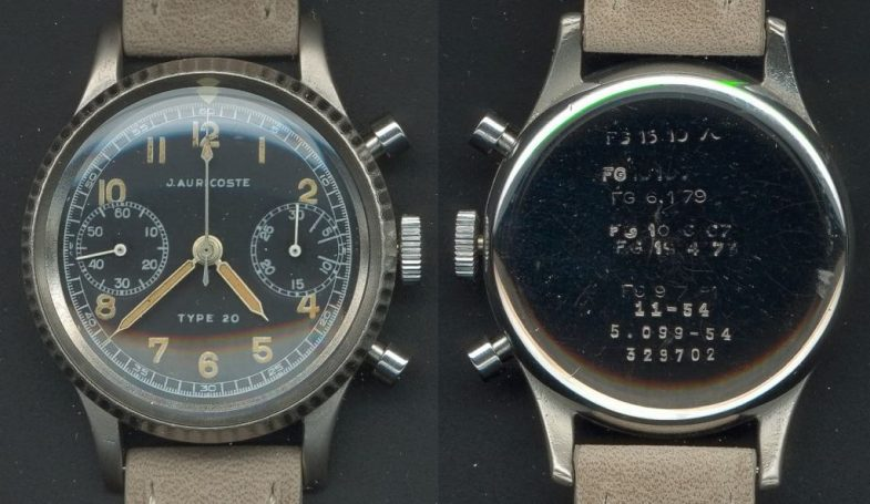 Военные хронографы французских пилотов: Type 20 и Type 21