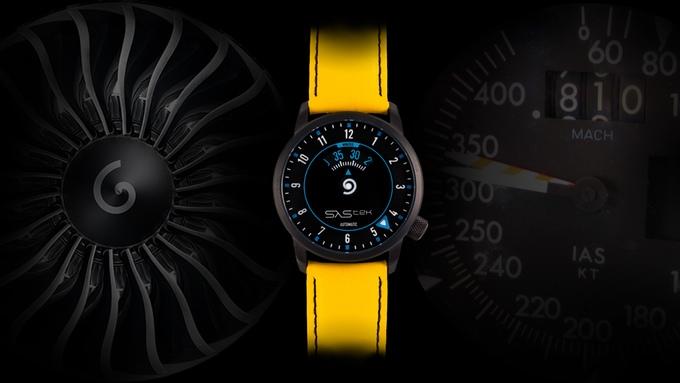 SaStek — еще одни заметные часы с Kickstarter