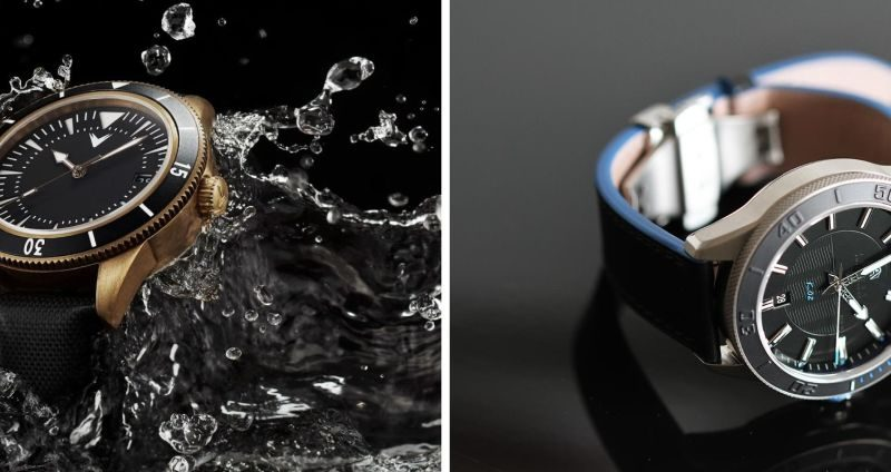 Часовой бум на Kikstarter: Ventus «Mori Brass Diver» и Akrone «K-01»