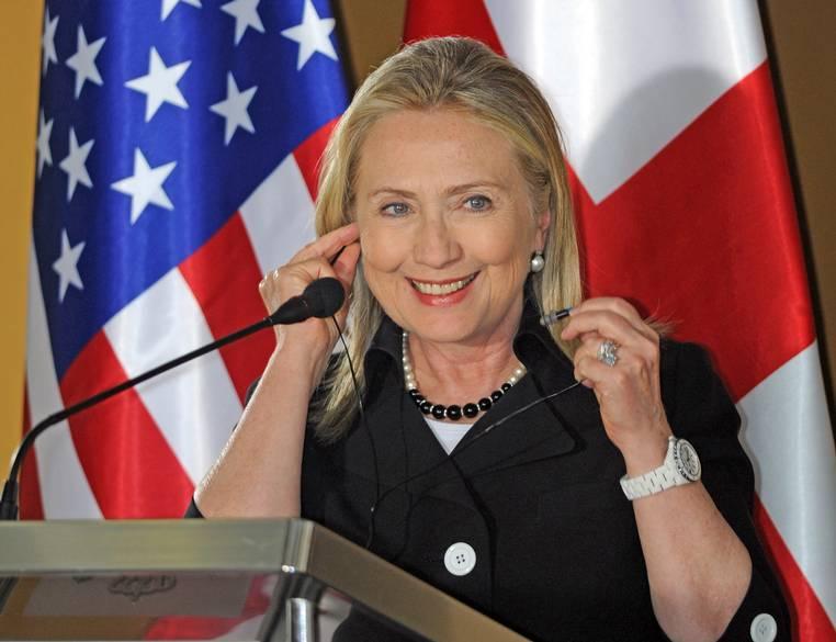 часы хиллари клинтон