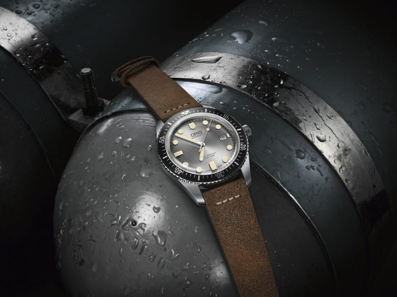 Oris Divers Sixty-Five SILVER
