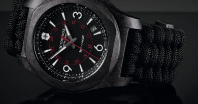 Карбоновые часы Victorinox Swiss Army I.N.O.X.