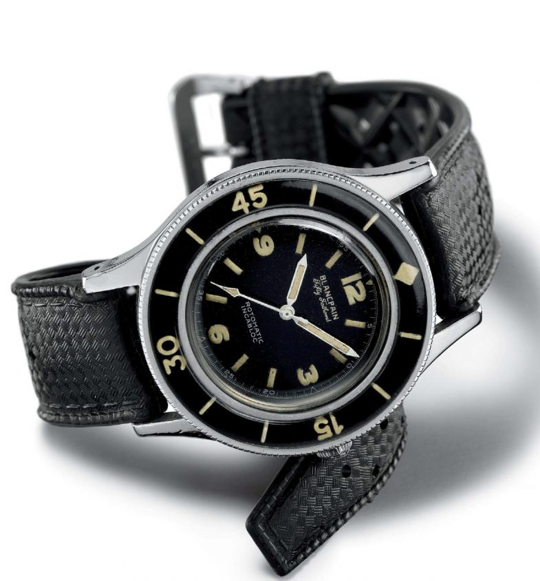 История Blancpain Fifty Fathoms