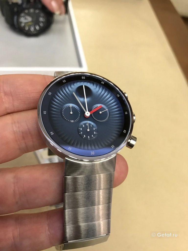 movado edge часы обзор