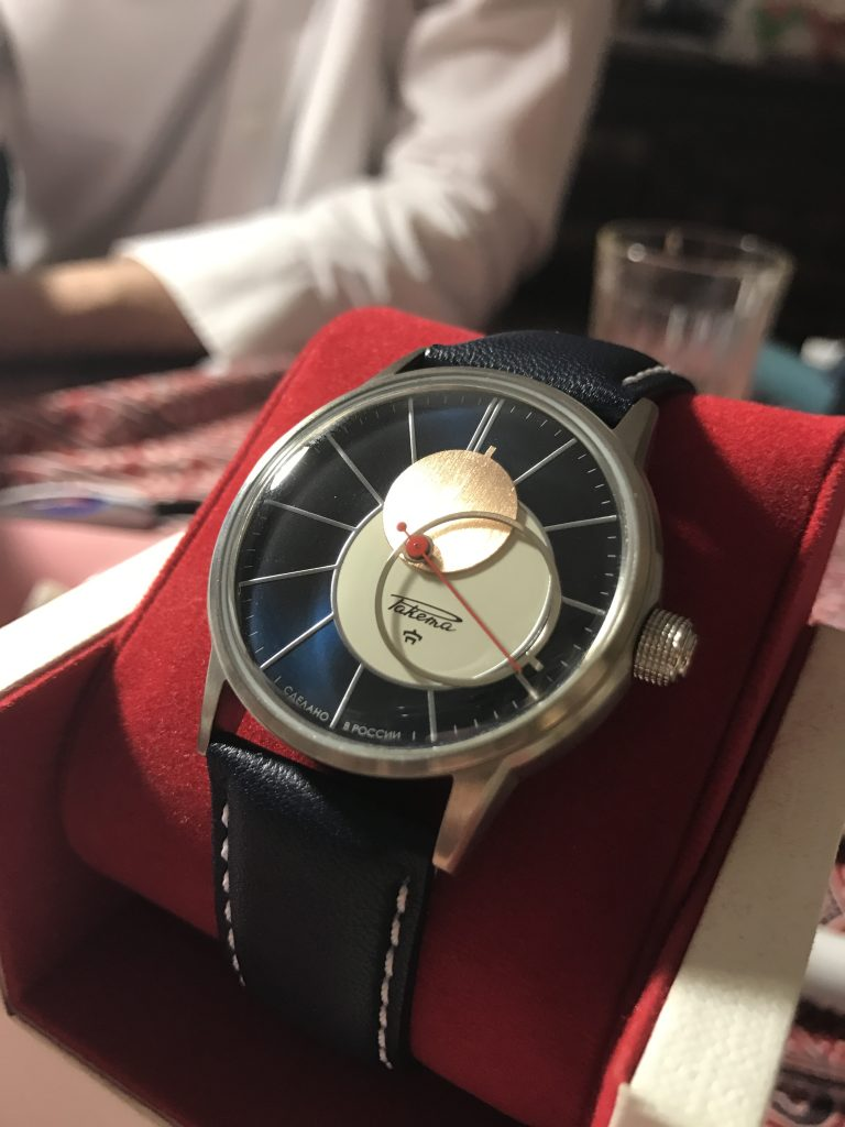 ракета коперник часы