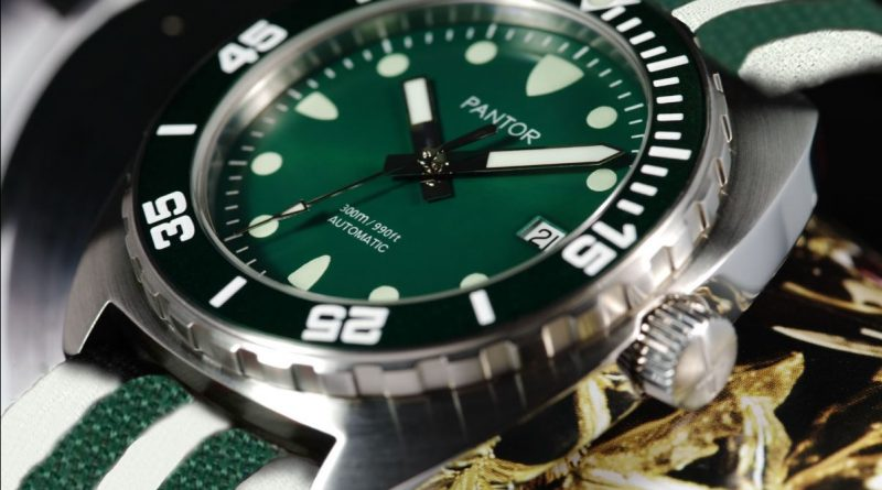 Дайверские часы Pantor из Гонконга