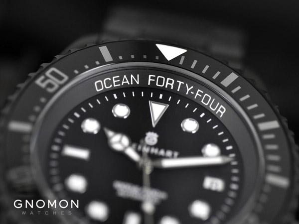 Уникальная новинка от Steinhart - Ocean 44 Matte DLC Ceramic