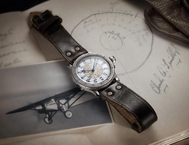 Longines - Lindbergh Hour Angle Watch 90th Anniversary
